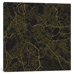 """East Urban Home 'Rome Roadway' Vertical Graphic Art on Wrapped Canvas Size: 18"""" H x 18"""" W x 0.75"""" D"""
