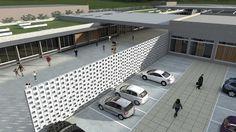 TFG 2014 - Centro de Atendimento a Crianças com TGD - estacionamento