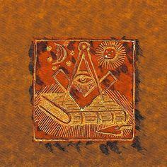 Painting - Freemason, Mason, Masonic Symbolism by Esoterica Art Agency , Masonic Art, Masonic Symbols, Freemasonry, Illuminati, Conspiracy, Occult, Bohemian Rug, Signs, Ninja