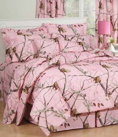 Southern Sisters Designs.com - Realtree Pink Camo Comforter Bedding Complete Set, $69.50 (http://www.southernsistersdesigns.com/products/Realtree-Ap-Pink-Camo-Comforter-Bedding-Set.html)
