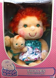 The Hug A Bunch Kids. I have this EXACT doll still. Nowhere near in as good a shape lol. So this is what she looked like at one point.
