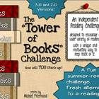 """Infuse new life into students' independent reading, at school or at home, with the """"Tower of Books"""" Challenge! Perfect for a summer reading challen..."""