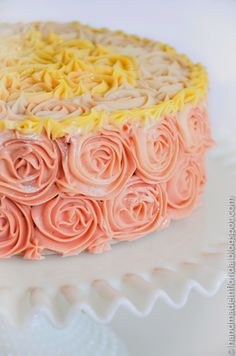 floral-themed cold process soap...perfectly timed for Spring and Summer :)     Using a tr...
