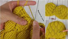 SON MODA AHUDUDU MODELİNDEN BAYAN BERE YAPIMI Crochet Bear, Crochet Hats, Hats For Women, Fingerless Gloves, Arm Warmers, Raspberry, Stylists, Crochet Patterns, Knitting