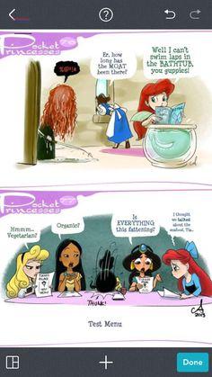 Pocket Princesses, Pocket Princess Comics, Disney Princesses, Disney Princess Cartoons, Disney And Dreamworks, Disney Cartoons, Disney Pixar, Disney Animation, Disney Characters