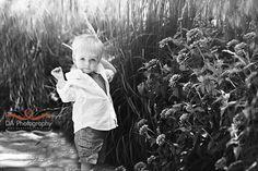 Flowers & toddler