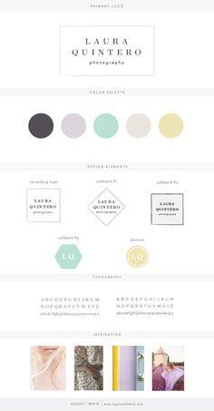 Brand reveal for Laura Quintero Photography | Branding | Brand Board | Logo Design | Graphic Design | Design Inspiration | Logo Ideas | Brand Ideas | Website Design | Color Palette | August and White