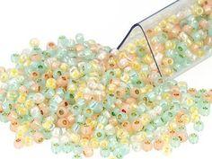 Pastel Shimmer 11/0 Designer Seed Bead Blend