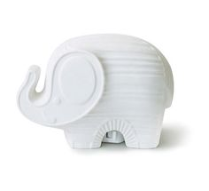 Shop for the Jonathan Adler Elephant Nightlight. A chic and timeless piece to bring light to your baby's nursery. Explore our selection of baby nursery decorations. Ceramic Elephant, Elephant Love, Elephant Nursery, White Elephant, Lucas Nursery, Elephant Stuff, Jungle Nursery, Elephant Theme, Elephant Art