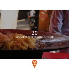20 Yummiest #Street #Food in #Delhi  Read more on the blog: http://zocalo.in/blog/looking-for-a-flat-on-rent-in-delhi-20-food-delhi/  Find the best #PGs #Hostels and #SharedApartments #RentalApartments across #Mumbai #Delhi #Noida #Gurgaon #BrokerFree