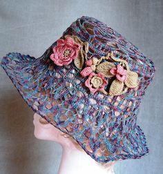Crochet summer HAT