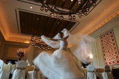 Madinat Jumeirah Resort, Dubai- Weddings - Honeymoon Destinations - Bride Dancing