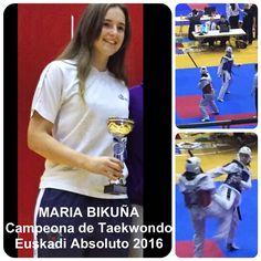 Zorionak Maria! Enhorabuena! Congratulations! Good work! Well deserved!