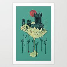 Walden Art Print by Hector Mansilla - $18.00
