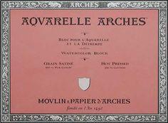 Arches Watercolor Block 140 Pound Hot Press Paper - 9 x 12 Sheets Arches,http://www.amazon.com/dp/B0015UI1XW/ref=cm_sw_r_pi_dp_06ZYsb1TA3C9XE9W