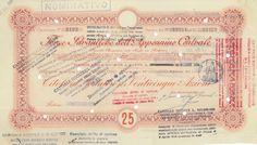 FORZE IDRAULICHE DELL'APPENNINO CENTRALE - #scripomarket #scriposigns #scripofilia #scripophily #finanza #finance #collezionismo #collectibles #arte #art #scripoart #scripoarte #borsa #stock #azioni #bonds #obbligazioni