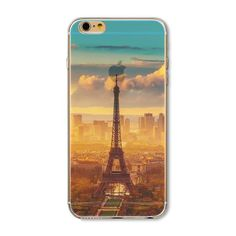 Forest Ocean Snow Mountain landscape Scenery Soft Silicon Coque For Apple Case Clear Phone Case For iphone 6 Case Iphone 5s, Iphone 7 Plus, Apple Iphone 5, Iphone Cases For Girls, Iphone Cases Cute, Iphone 6 Design, Scenery Paintings, Silicone Phone Case, Iphone Models
