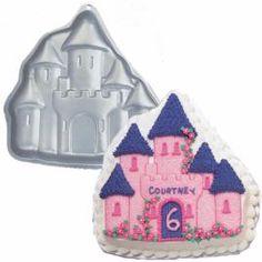 Enchanted Castle Pan - Princess Theme Birthday