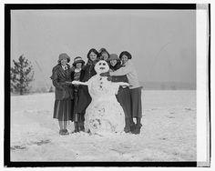 Snowman. 1923
