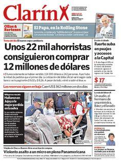 Cepo: vendieron 12 millones de dólares a 22.000 ahorristas. Más información: http://www.ieco.clarin.com/economia/Cepo-vendieron-millones-dolares-ahorristas_0_1075092484.html