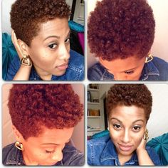 Loving her tapered cut!  www.tressesandtreats.com