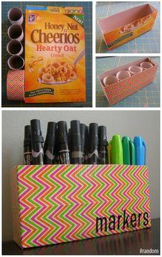 Κατασκευές απο κουτιά δημητριακών! | Φτιάξτο μόνος σου - Κατασκευές DIY - Do it yourself