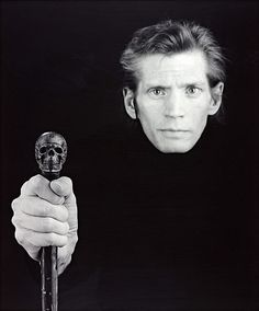 robert mapplethorpe, self portrait, 1988