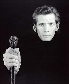 robert mapplethorpe, self portrait, 1988