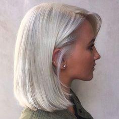 WEBSTA @ hair_style_trends - Dipten uca beyaz sarı uygulaması / From bottom to end white blonde by @terrashapiro_atjuansalon ❤