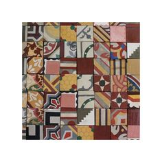 Mosaic Tapas patchwork tiles from The Reclaimed Tile Company | Patchwork tiles micro trend 2014 | Trends | PHOTO GALLERY | Housetohome.co.uk...