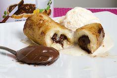 Banana com Nutella - Sal de Flor saldeflor.com.br/uncategorized/banana-com-nutella/ BANANA COM NUTELLA é uma das melhores invenções do homem.Para fazer essa sobremesa delícia, precisaremos de:Banana