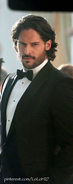 Joe Manganiello--Looks absolutely delicious in this well tailored suit... De-Li-Cious!!!