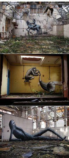 Fascinerende foto's van verlaten schoolgebouwen wereldwijd