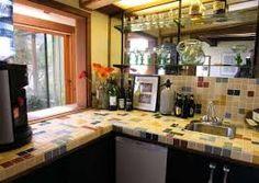 Картинки по запросу маленькая плитка в отделке кухни