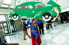 Superman | Comikaze Expo 2014 - Saturday #DTJAAAAM