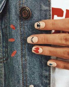 Minimalist Nails, Nail Swag, Shellac Nails, Manicure, Acrylic Nails, Cute Nails, Pretty Nails, Hair And Nails, My Nails