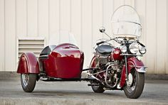 Gooding & Co. - 1947 Indian Chief Motorcycle with Sidecar