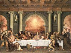 Tizian - Das Abendmahl (70,0 x 53,0 cm)