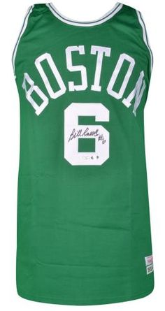 Bill Russell Signed Jersey #SportsMemorabilia #BostonCeltics Bill Russell, Boston Celtics, Athlete, Men's Fashion, Sports, Tops, Moda Masculina, Hs Sports, Mens Fashion