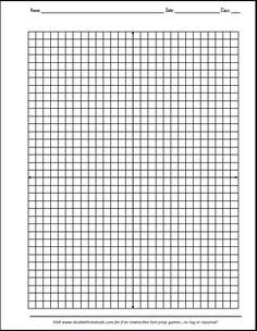 Free Printable X-Y Axis Graphing Paper Math Hacks, Cognates, Math Graphic Organizers, Chaos Theory, Algebra 1, Fifth Grade, Graph Paper, Future Classroom