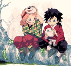 Demon Slayer( Kimetsu No Yaiba) Photo+memes - Chibi Giyu - Wattpad Anime Angel, Anime Demon, Manga Anime, Anime Art, Manga Art, Demon Slayer, Slayer Anime, Girls Anime, Anime Guys