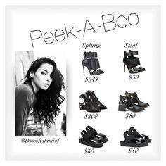 Peek-a-boo by styledbydoseofvitaminf on Polyvore featuring polyvore, Mode, style, Senso, ALDO, Sol Sana and Giuseppe Zanotti