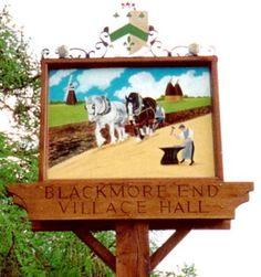 Blackmore End.