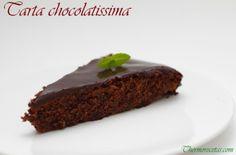 Auténtica tarta de chocolate con cobertura