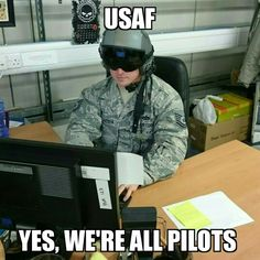Everyone is a pilot.