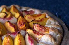 nectarine almond galette | smittenkitchen.com