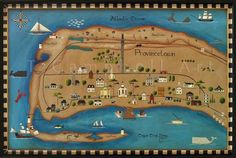 Historic Map of Provincetown MA