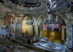 Abandoned Theatre In Southern California ... how is it that we're so indifferent about the past? And when did that happen?