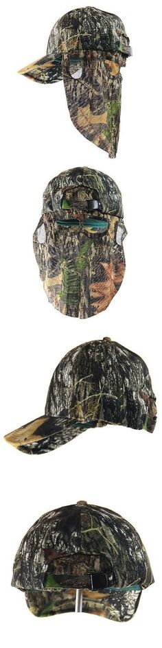 0bdaeee689b Hats and Headwear 159035  Mossy Oak Break Up Camo Hunting Hat W Rear Face  Mask