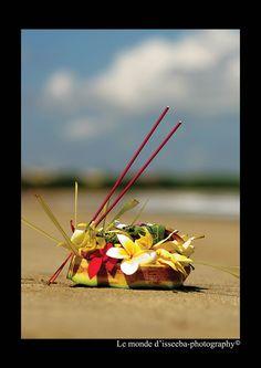 ceremonie in Bali